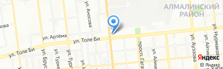 Baloo street food на карте Алматы