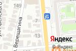 Схема проезда до компании Дверки в Алматы