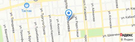 Жайна на карте Алматы