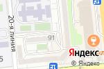 Схема проезда до компании SFood в Алматы