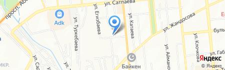 ECO-SVET на карте Алматы