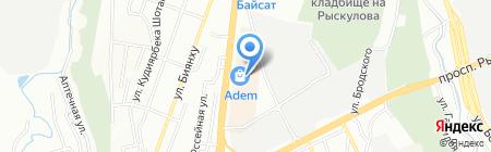 Сокровища Агры на карте Алматы