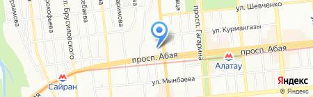 Наиля на карте Алматы