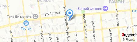 Дом 66 на карте Алматы