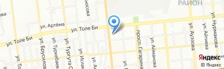 А`стро на карте Алматы