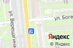 Схема проезда до компании Ventanas.kz в Алматы