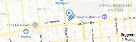 МастерГрад на карте Алматы