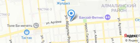 DIVATY на карте Алматы