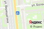 Схема проезда до компании Grace в Алматы