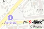 Схема проезда до компании На Тимирязева в Алматы