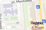 Схема проезда до компании Кардиосервис в Алматы
