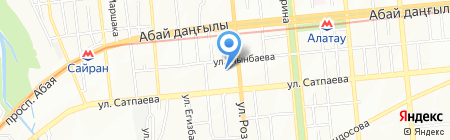 Кардиосервис на карте Алматы
