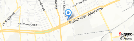 Анар-фарм на карте Алматы