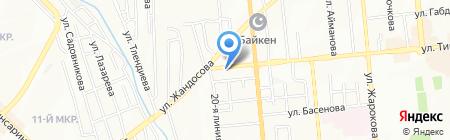 Бухгалтерия организаций–получателей бюджетных средств на карте Алматы