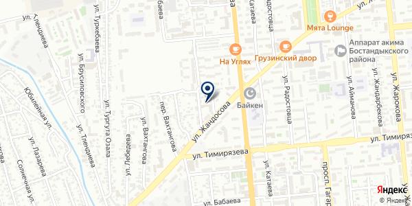 Profil House Almaty на карте Алматы