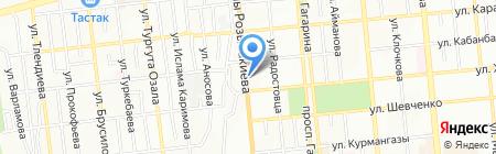 Alra-Exchange на карте Алматы