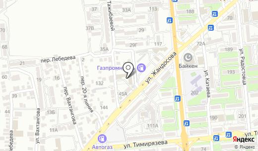 SWEET DREAMS KAZAKHSTAN. торговая компания. Схема проезда в Алматы