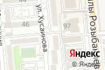 Схема проезда до компании Palitra-izo в Алматы