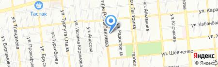 Alazany на карте Алматы