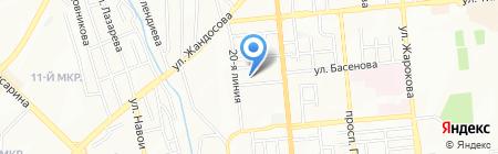 АкТуйгын на карте Алматы