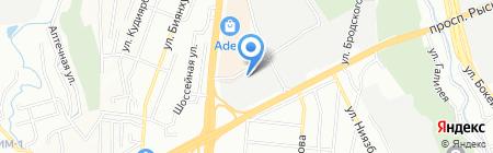 Азия-Пресс на карте Алматы