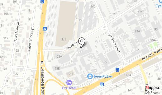 ASA Corp. Схема проезда в Алматы