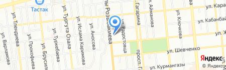 Проектное бюро на карте Алматы