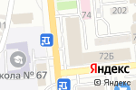 Схема проезда до компании DVERILINE в Алматы
