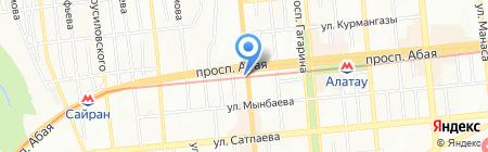 Аметист на карте Алматы