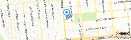 Мебельный салон на карте Алматы