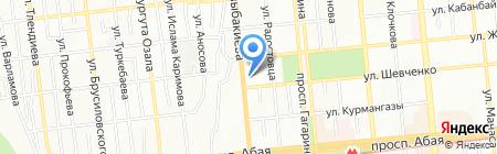 Сантехник на карте Алматы