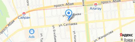МИР ИГРУШЕК на карте Алматы
