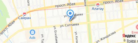 SELA на карте Алматы