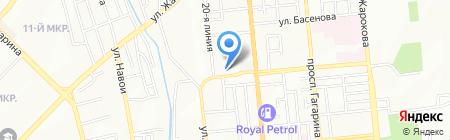 Академия МВД Республики Казахстан на карте Алматы
