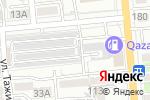 Схема проезда до компании КазАвтоТехОсмотр, ТОО в Алматы