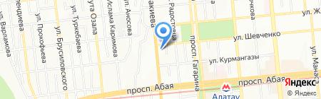 Салон обоев на карте Алматы