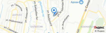 Tavro-GP на карте Алматы
