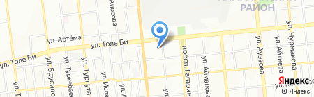 АС на карте Алматы