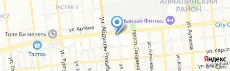 ProComfort на карте Алматы