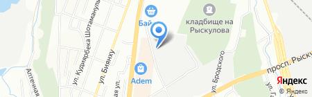 Интер Мелиоратор на карте Алматы