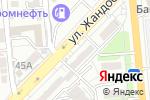 Схема проезда до компании Эстет-Дент в Алматы