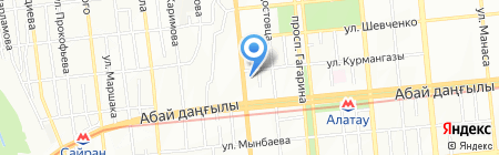 Виктория продуктовый магазин на карте Алматы