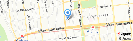 Domtekc.kz на карте Алматы