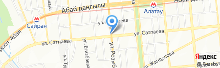 ABRACADABRA на карте Алматы