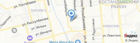 Симба на карте Алматы