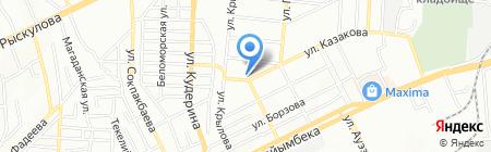 Вилегия Транс на карте Алматы