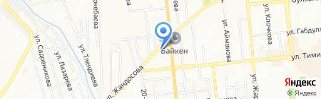 Нотариус Абданбеков Е.М. на карте Алматы