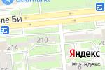 Схема проезда до компании SVK.COM в Алматы