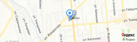 TR Company на карте Алматы