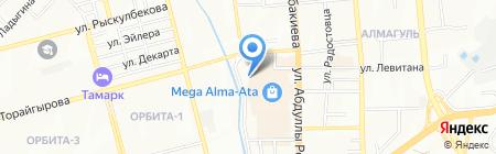Smart+ на карте Алматы